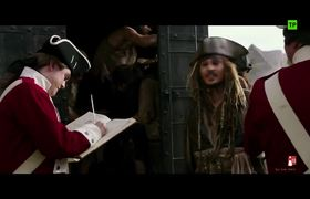 Piratas Del Caribe 5: La Venganza De Salazar -- Spanish Clip