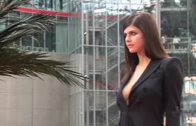 Alexandra Daddario and Cast Footage at BAYWATCH