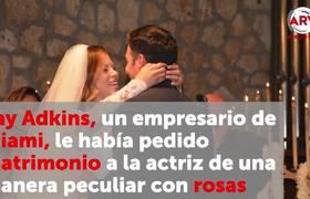 Se casaron Ximena Duque y Jay Adkins