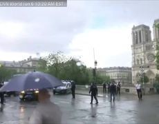Officer Attacked At Paris Notre Dame Cathedral, Assailant Shot