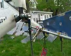 Wind Generator Made from Scraps