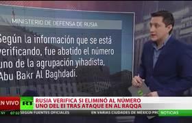 Líder del Estado Islámico habría fallecido tras ataque aéreo ruso