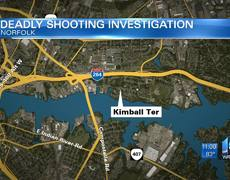 Woman dies in Kimball Terrace shooting