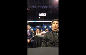 e8e420ddc04 Magic Johnson CALLS Lonzo Ball Before Being Drafted To The Los Angeles  Lakers