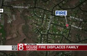 Family displaced after fire ravages Cheshire home