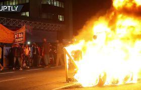 Anti-Temer protests turn violent in Brazil