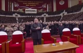 NKorea's Kim Celebrates Launch at Concert