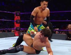 Akira Tozawa & Cedric Alexander vs. Neville & Noam Dar: WWE