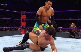 Akira Tozawa & Cedric Alexander vs. Neville & Noam Dar: Raw, July 10, 2017