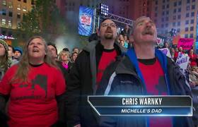 American Ninja Warrior 2017 - Michelle Warnky at the Cleveland Qualifiers