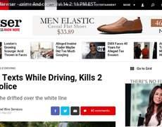 Ohio woman texts, drives, kills 2 teen girls