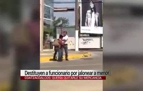 Despedido el funcionario que abuso a menor en Coatzacoalcos