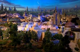 Star Wars-Inspired Land Model