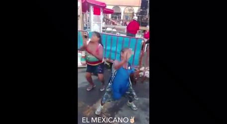 Doñitas bailando cumbias y se llevan el show!!!