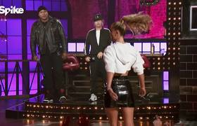 "Lip Sync Battle - Nina Agdal Performs The Black Eyed Peas' ""My Humps"""