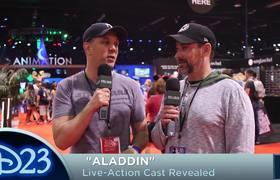 Cast de Aladdin revelado en la Expo D23 2017