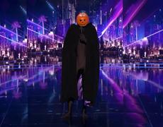 Dancing Pumpkin Man: Viral Sensation Returns With Stellar Dance Moves - America's Got Talent 2017