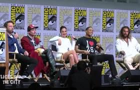 Comic Con Panel - Justice League Respond To Reshoots & Batman Rumors