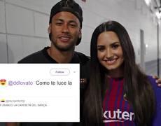 Demi Lovato y Neymar JUNTOS!!