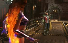 Injustice 2 Starfire - Gameplay Trailer Comic Con (2017)