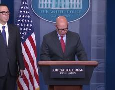 H. R. McMaster & Mnuchin Speech at Sarah Sanders Press