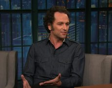 Matthew Rhys Had Dinner with Michelle Obama Dressed Like a Pervert