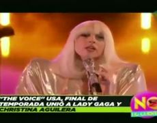 Christina Aguilera and Lady Gaga unite their voices in The Voice USA