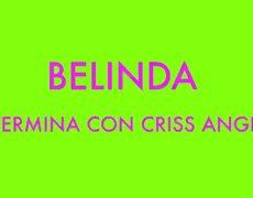 BELINDA termina su relación con CRISS ANGEL