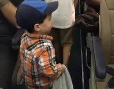 #VIRAL: Niño con muy buenosmodales enternece a las redes