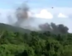 #VIDEO: Smoke rises after helicopter crash in Charlottesville
