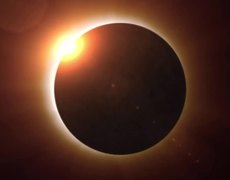 Why is it wrong to see a solar eclipse in front?
