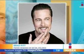 Brad Pitt pierde demanda contra artista