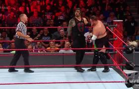 John Cena & Roman Reigns vs. The Miz & Samoa Joe: Raw, Aug. 21, 2017
