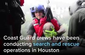 Dramatic Rescues Follow Devastating Houston Floods