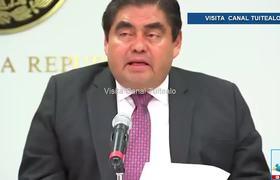 Luis Miguel Barbosa denuncia que Rafael Moreno Valle operó una red de espionaje