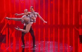 America's Got Talent 2017 - Junior & Emily Alabi: Siblings Perform Dazzling Dance Routine