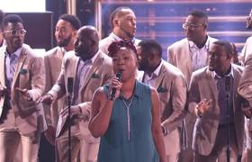 America's Got Talent 2017 - DaNell Daymon & Greater Works: Choir Amazes With Iconic Tune