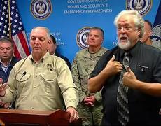 Governor Says Louisiana Flood Threat Diminishing