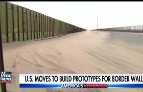 US moves to build prototypes for border wall