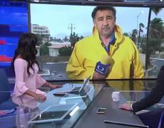 COLAPSAN EDIFICIOS Y PUENTES POR TORMENTA LIDIA EN LOS CABOS