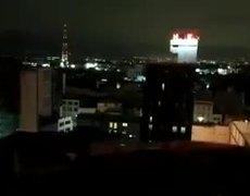 Luces en el cielo durante el TERREMOTO EN MEXICO el dia del juicio final