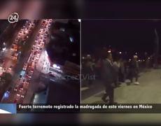 Sube a 32 la cifra de muertos tras violento terremoto que sacudió a México