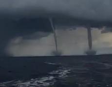 #VIDEO: Double Tornado hurricane Irma in Florida