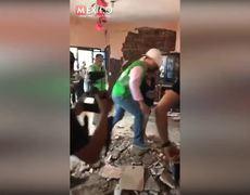 Anahí presumió en Facebook ayuda a los damnificados del sismo en Chiapas