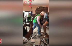 Anahí presumió en Facebook ayuda de su esposo a los damnificados del sismo en Chiapas