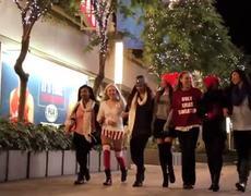Girl Radical Santa OFFICIAL Video