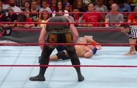 John Cena vs. Braun Strowman: Raw, Sept. 11, 2017