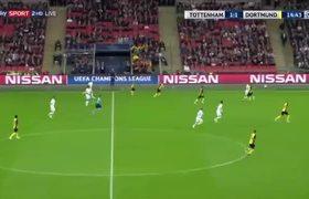 Harry Kane Goal - Tottenham vs Borussia Dortmund 2-1