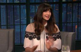 Caitriona Balfe's Outlander Co-Star Kept Trying to Hide in Her Skirt