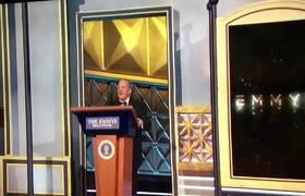 2017 Emmy Awards Sean Spicer appearance